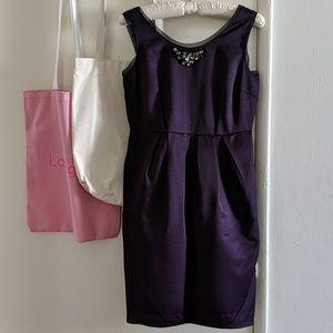 Simply Vera by Vera Wang purple cocktail dress